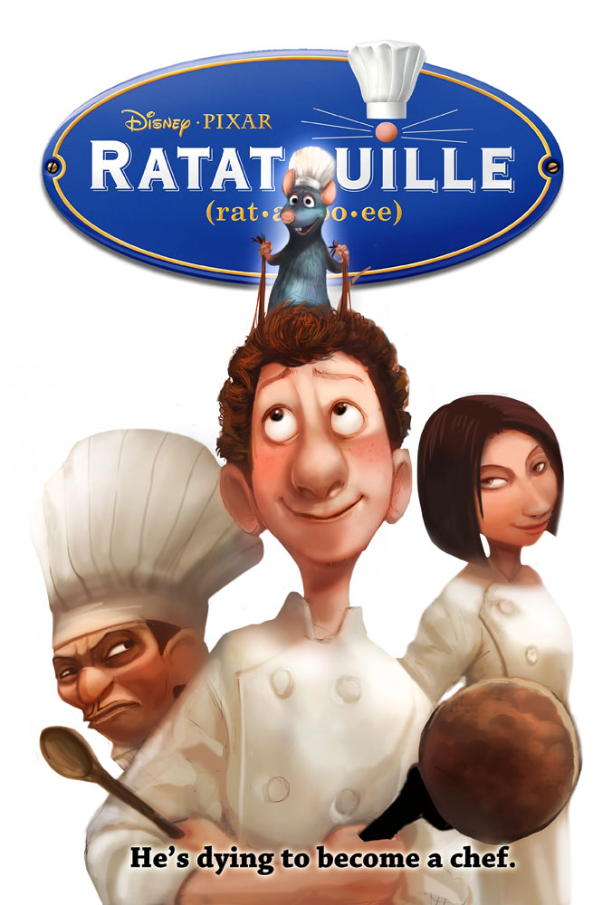 sotm ratatouille movie poster by froggiechan d3f89tr - яomeo Filmografi
