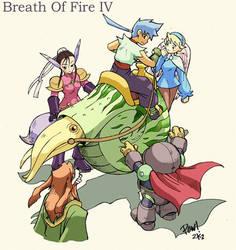 breath of fire 4 fan art by froggiechan
