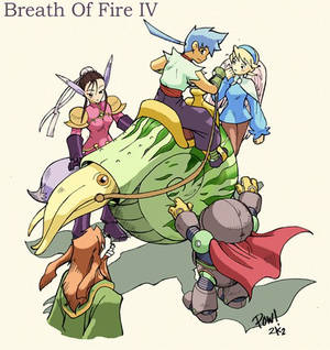 breath of fire 4 fan art