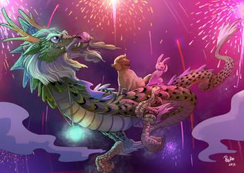 Sandra Woo Puzzle no 6 Prize winner by froggiechan
