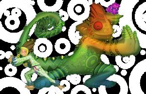 Chameleon and Kid