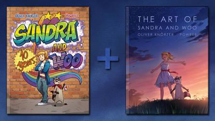 Kickstarter Campaign for Sandra and Woo Web Comics by froggiechan
