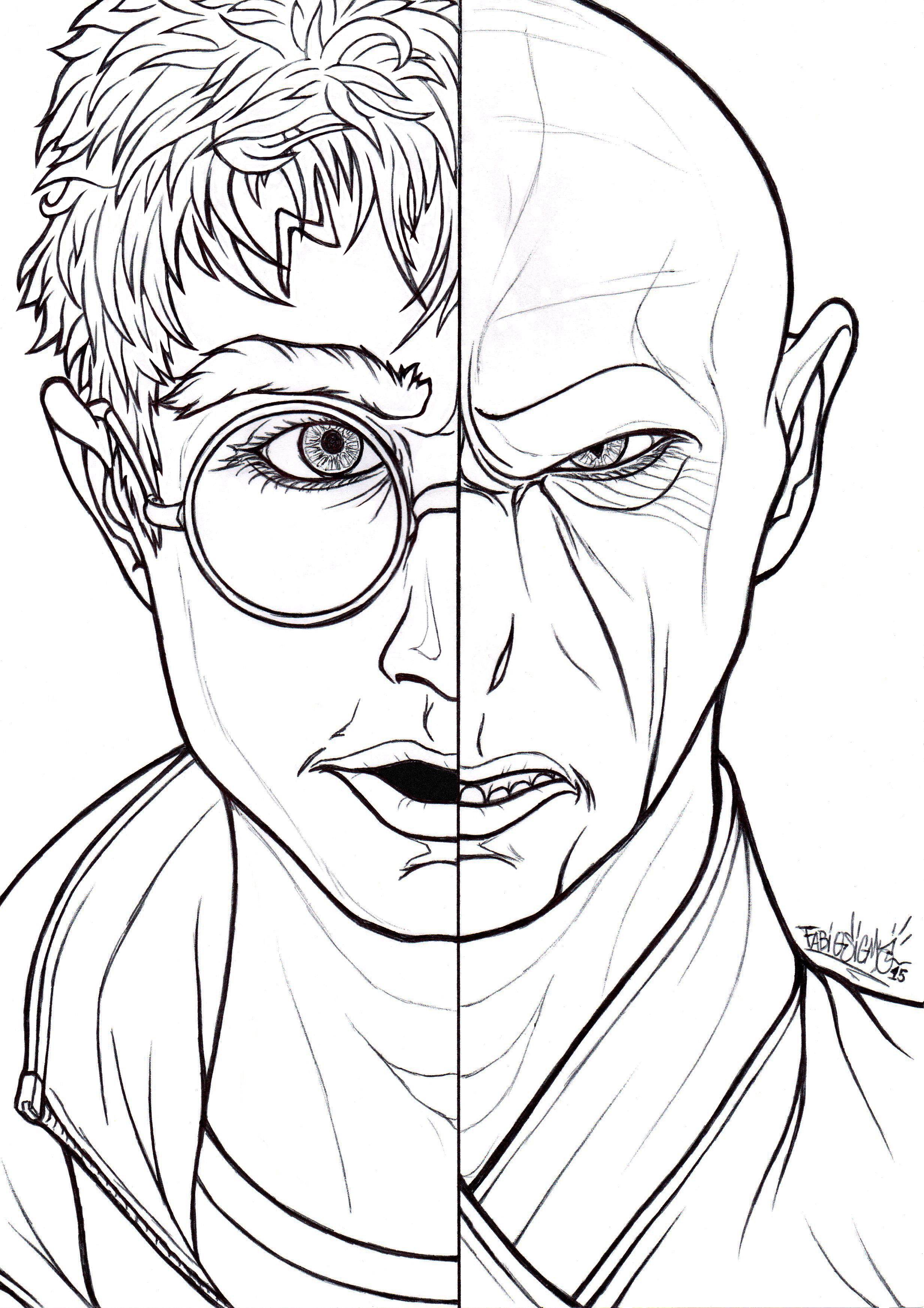 Slytherin Coloring Pages