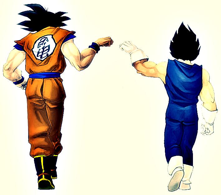 Goku y vegeta : Renders HD imagenes - Taringa!