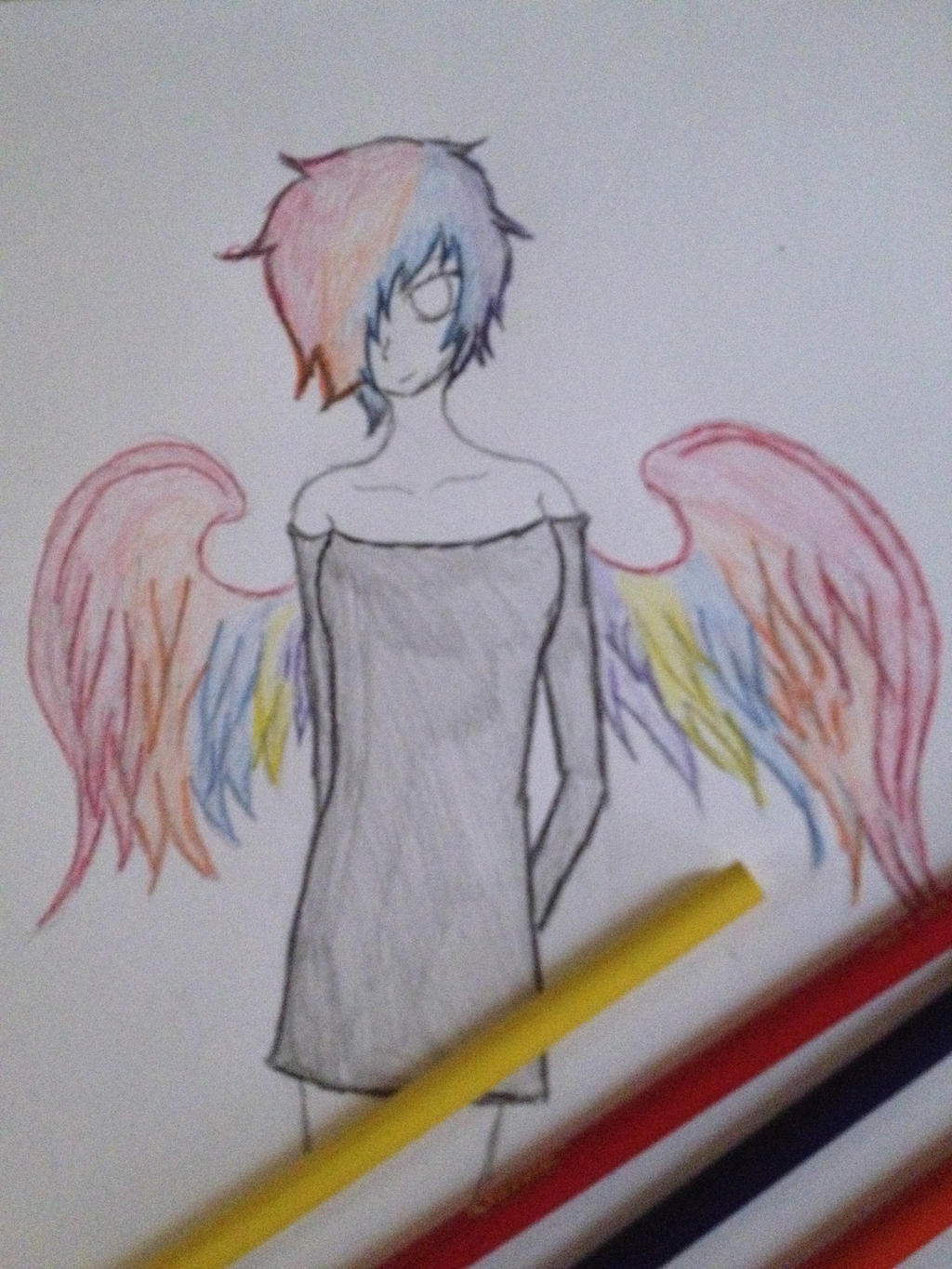 GAY PRIDE ANGEL by Mad-Manga-Bones