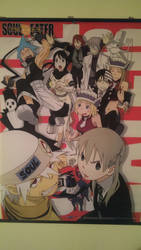 Big Ass SoulEater Poster by Mad-Manga-Bones