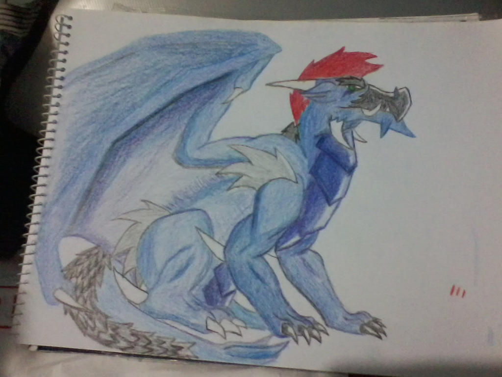 [Colored Pencil practice] Jugo the Ice Dragon by ...