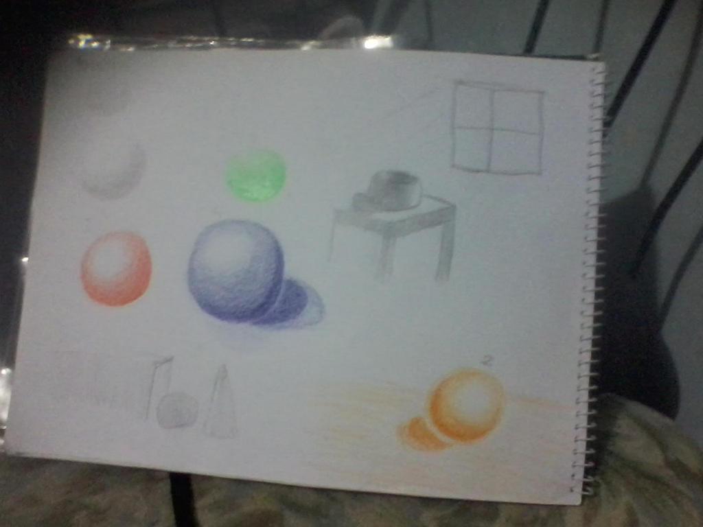 Light and shade study