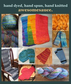 Custom fibers collage