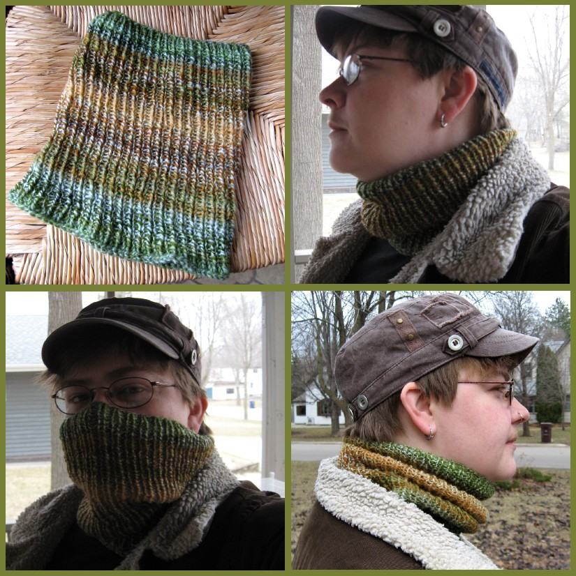 Manly Neckwarmer by StarTyrian