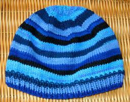 Blue Striped Hat