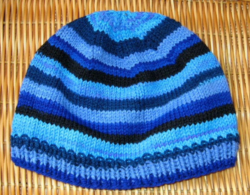 Blue Striped Hat by StarTyrian