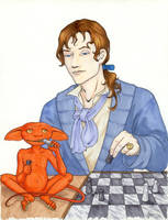 Spot learns to play chess by StarTyrian