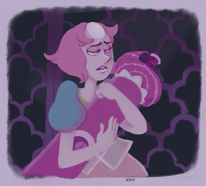 """...isn't it?"" I love this sad rock so much. Her and roses story is so tragic and beautiful and it inspires me. I'm a weirdo that way I suppose. hope you dig it!  do you like the less lineart-..."