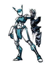 XJ9 vs RobotBoy V2 by Darthpepo1