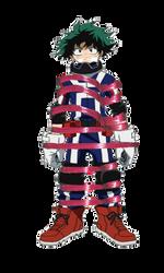 Izuku Midoriya - Tied up and gagged in sportswear