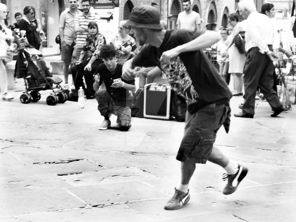 Street Dance by Kevin-Welch