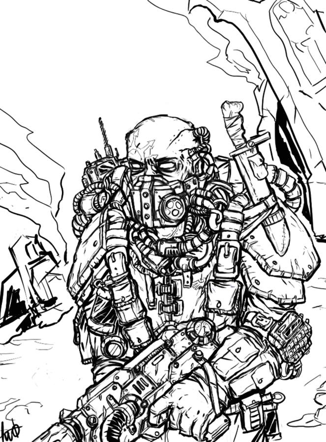 Traitor Guard by kriegsmachine14