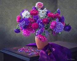 Favorite flowers in August by Daykiney