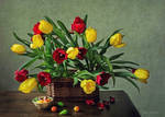 Tulips and marzipan