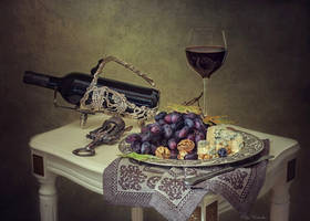 About cheese and red wine by Daykiney