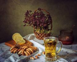 Fragrant herbal tea by Daykiney