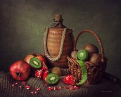 About kiwi and pomegranates