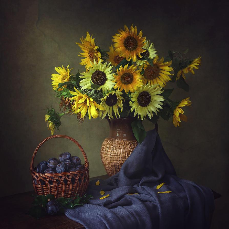 Again sunflowers by Daykiney