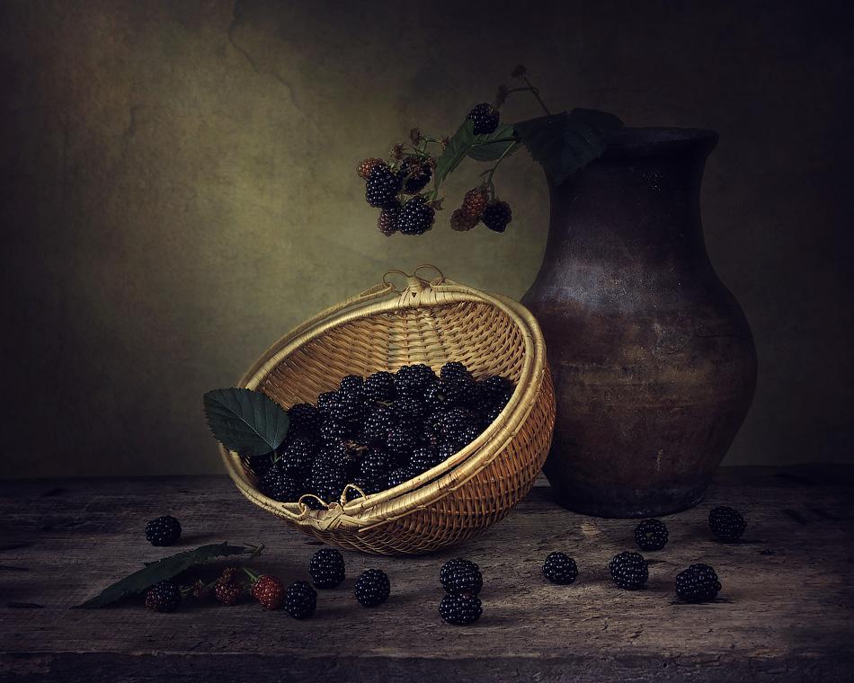 Blackberry basket by Daykiney