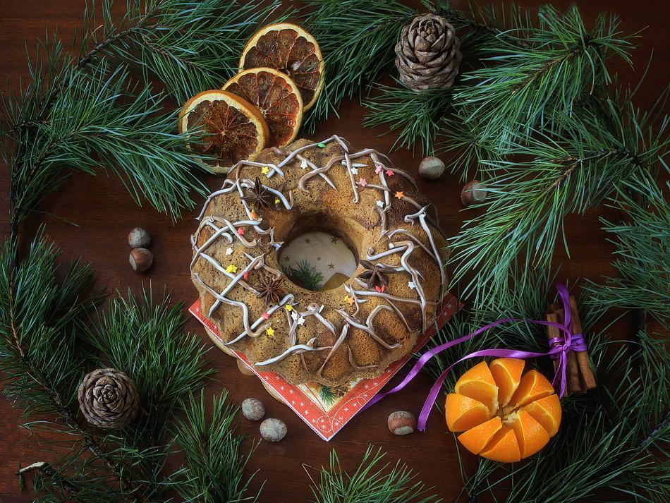 Christmas dessert by Daykiney