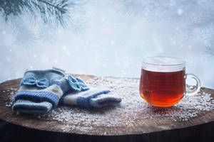 Winter tea by Daykiney