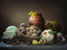 Vegetables still life by Daykiney