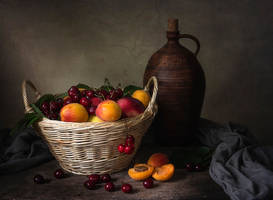 Fruit still life by Daykiney
