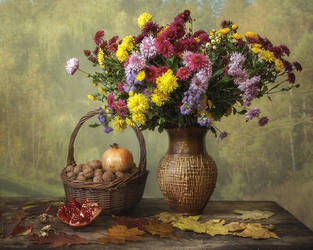Golden autumn by Daykiney