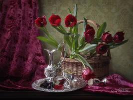 Spring in magenta colors