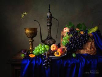 Still life in Baroque style