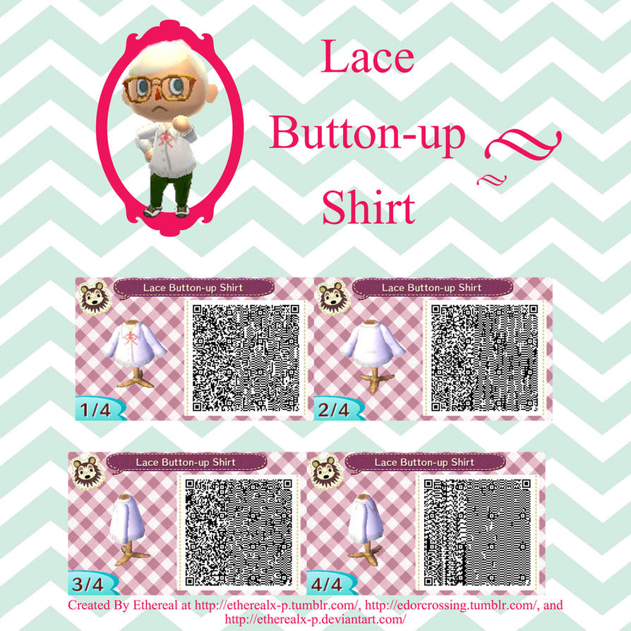 Leather jacket qr code new leaf - Acnl Lace Dress Qr Code