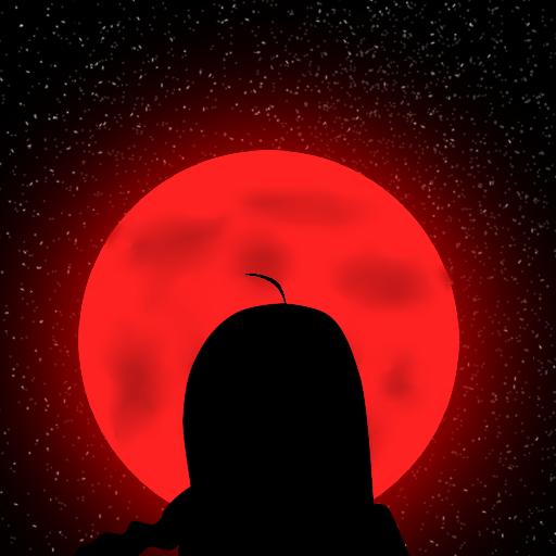 Blood moon by HitokiriOniKage