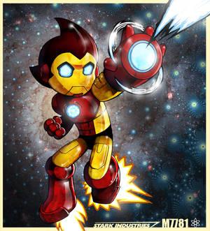 stark industries x astroboy