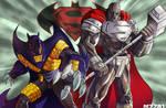 90's Superman and Batman