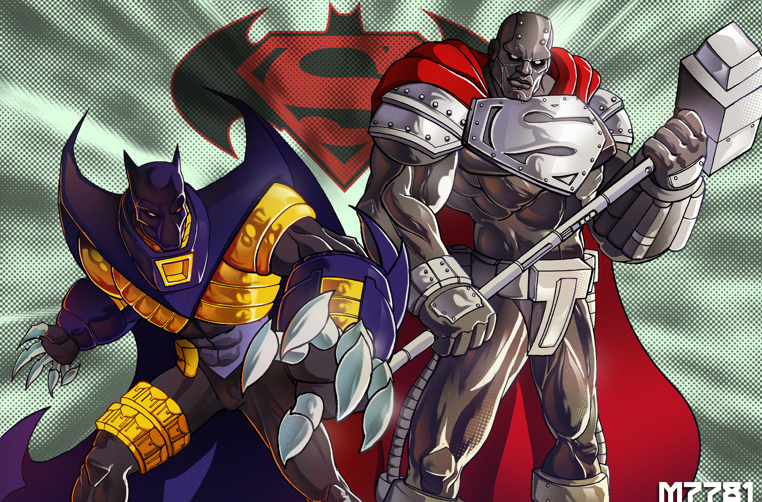 90's Superman and Batman by m7781