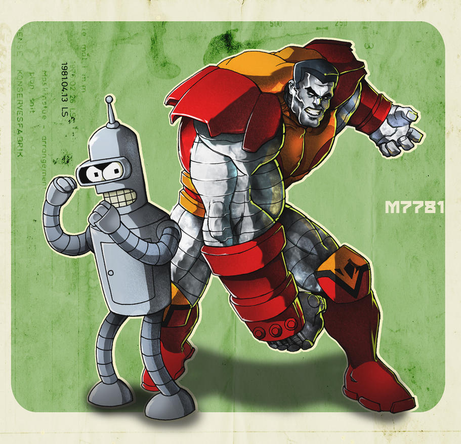 colossus n' bender by m7781