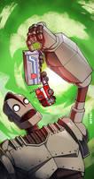 iron giant vs optimus prime