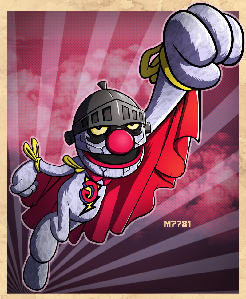 bizarro super grover by m7781