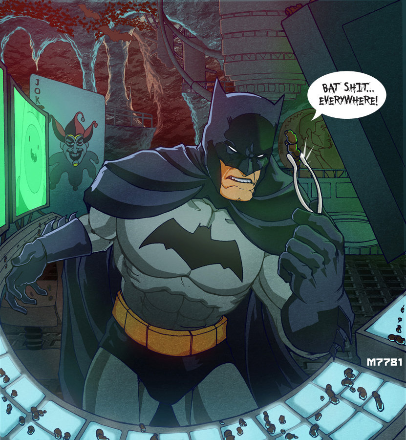 downside of having a batcave by m7781