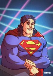 superman circa 93 by m7781