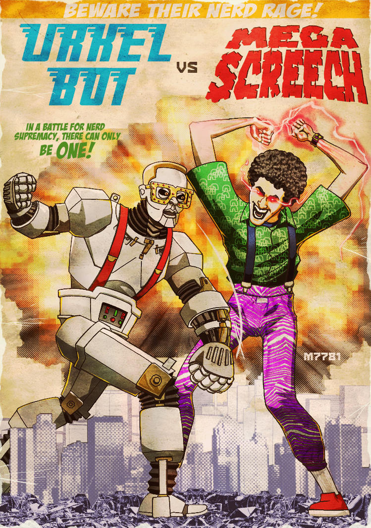urkel vs screech by m7781