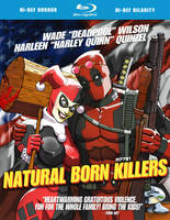 deadpool x harley quinn x natural born killers by m7781