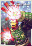 an iron man christmas