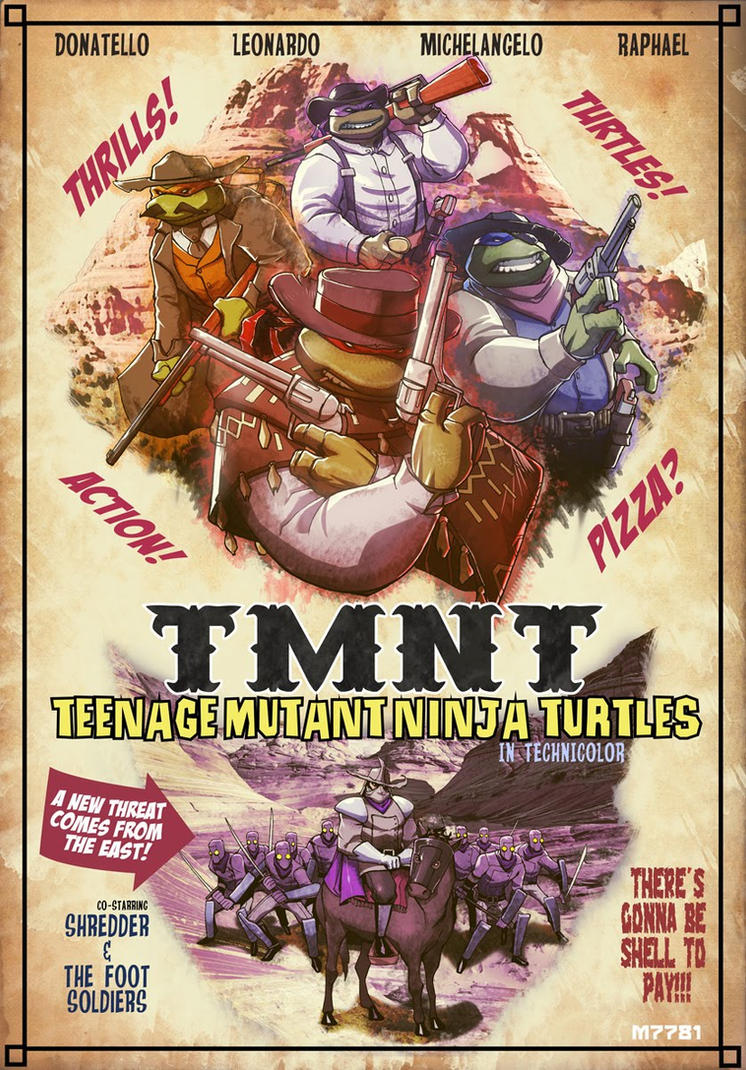 CBR: TMNT western by m7781
